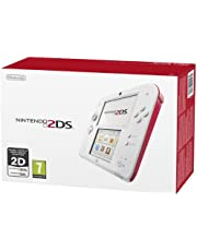 Nintendo 2DS Console, Bianco/Rosso