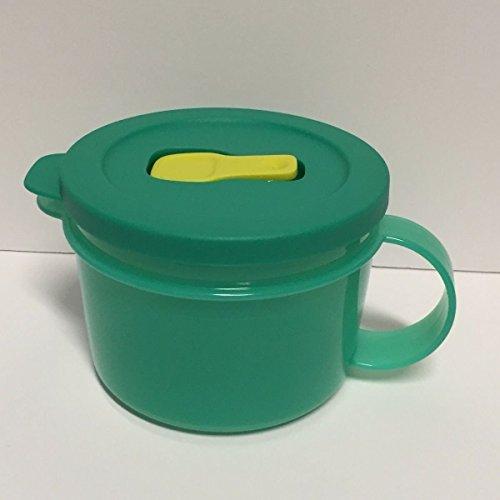 Tupperware Crystalwave Microwave Soup Mug 16 Oz Laguna - Laguna Green