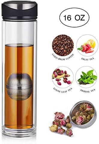 YEOSEN Tea Infuser Bottle Leakproof product image