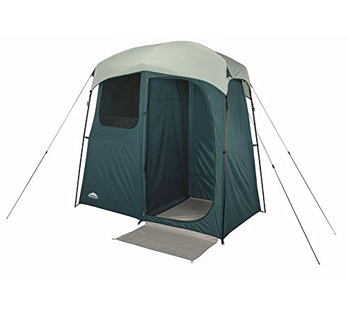 Outdoor-Portable-7×4-Two-Room-Shower-Tent-with-Divider-for-Changing-Perfect-for-Camping-Hiking-Outdoor-Adventures-Cannot-ship-to-California-or-Alabama-due-to-state-restrictions