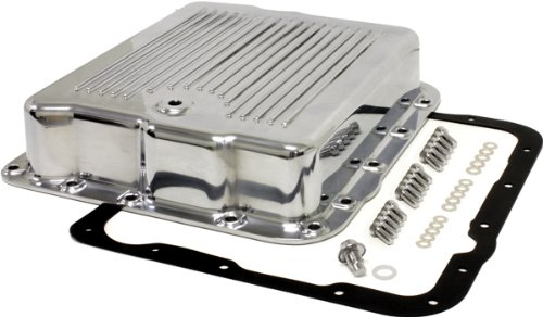 Chevy/GM 700R4-4L60E-4L65E Aluminum Transmission Pan Kit - Polished ()