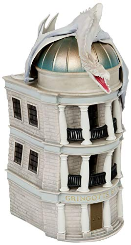 Harry Potter Monogram Gringotts Bank PVC Bank,Multi Color