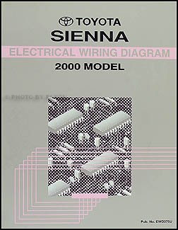 2000 toyota sienna van wiring diagram manual original toyota rh amazon com toyota sienna 2000 manual pdf toyota sienna 2000 owners manual pdf