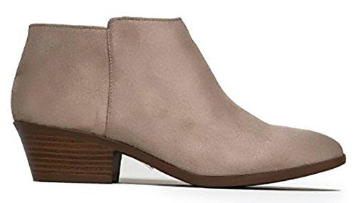 Soda Women's Shoes Mug-S Fabric Closed Toe Ankle Fashion Boots