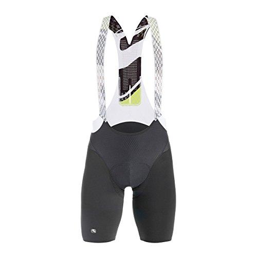 Giordana Lungo Bib Shorts - Men's Black, L -