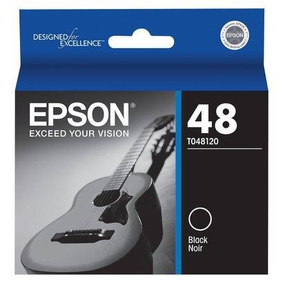 Epson T0481 Black Ink Cartridge - Inkjet - 450 Page Black, Page - Black - 1 (Catalog Category: SUPPLIES- PRINTER)