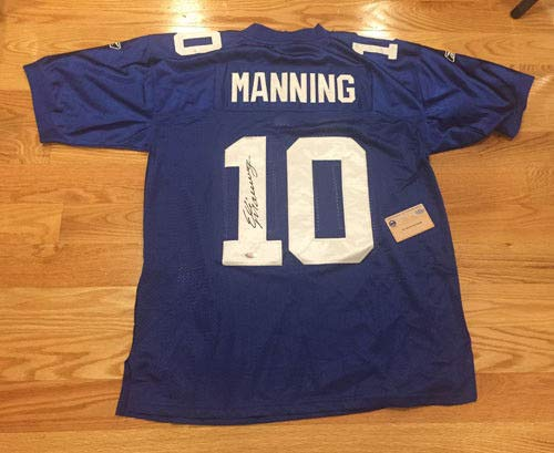 - Eli Manning Autographed Signed Authentic On The Field Reebok Jersey Steiner