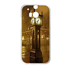 London 7 HTC One M8 Cell Phone Case White&Phone Accessory STC_107502