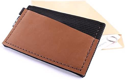 K.So. Slim Minimalist Wallet & Card Holder. Minimal Front Pocket Small Wallet for Men and Women