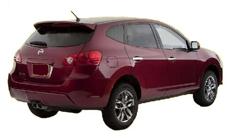 nissan rogue spoiler wing - 2