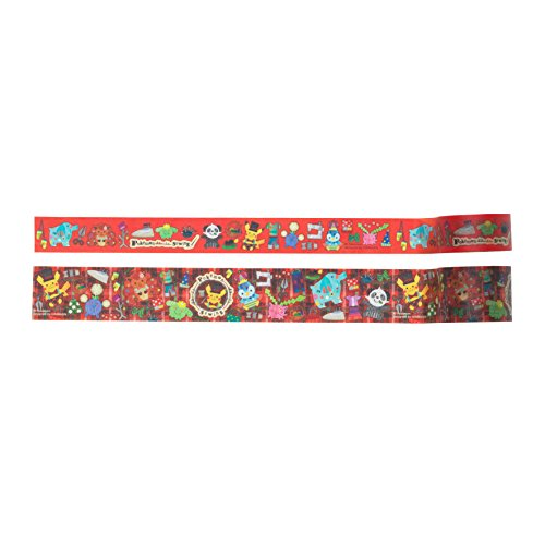 Pokemon center original masking tape pokémon chiku-chiku sewing