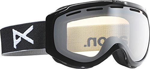Anon Hawkeye Adult Snow Goggle - Black/Silver Amber