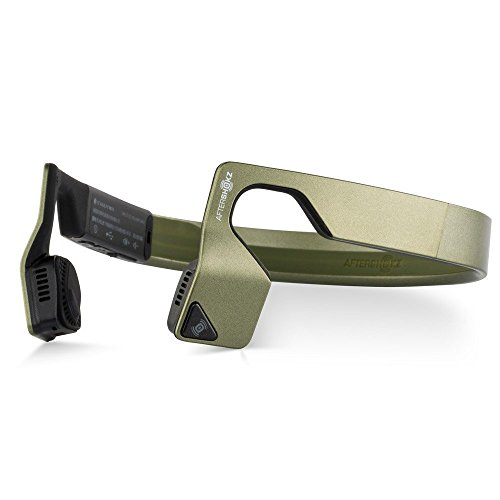 AfterShokz Bluez 2S Open-ear Wireless Stereo Headphones (Olive Green) by Aftershokz (Image #1)