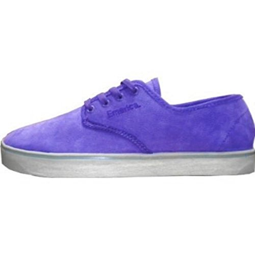 Emerica Skateboard Schuhe Laced Gaudy Grey/Purple