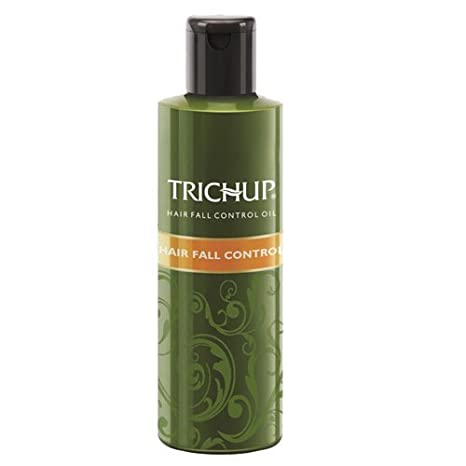 Trichup Hair Fall Control Herbal Hair Oil (200 ml x 2) (Pack of 2) Vasu Healthcare