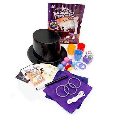 Grafix - Mega cappello magico con 150 giochi di prestigio ToyCenter 56577870973