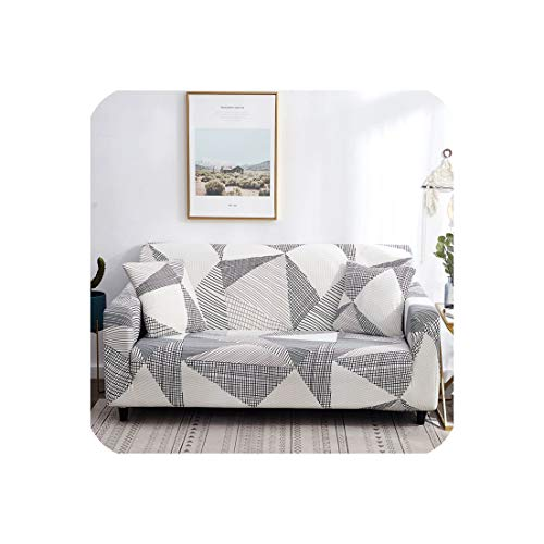 Beautiful Lies Sofa Cover Couch Elastic Stretch Tightly Wrap All-Inclusive Slip-Resistant Sofa Slipcover for Living Room 1Pc Multi Colors,Cloud,Single-Seater (8 Seater Dining Table And Chairs Ikea)