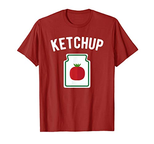 Tomato Ketchup Bottle - Funny Halloween Costume T-Shirt -