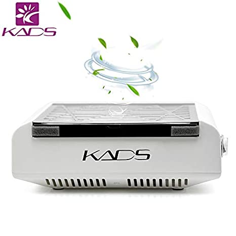 KADS Nail Suction Dust Extractor Fan Collector Nail Vacuum Cleaner Fan No-spilling Filter (220V EU Plug) KADS Co. Ltd
