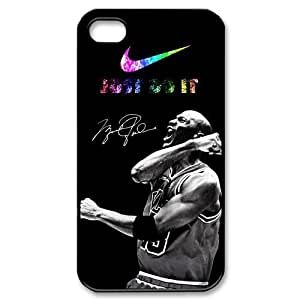 Chicago Bulls Michael Jordan Case For Ipod Touch 5 Cover With Nike-Just Do It Hard Protector Case