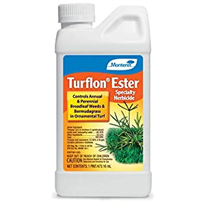 Monterey LG5518 Turflon Ester Specialty Herbicide Concentrate Broadleaf Weed Killer for Lawns, 16 oz, 16 oz
