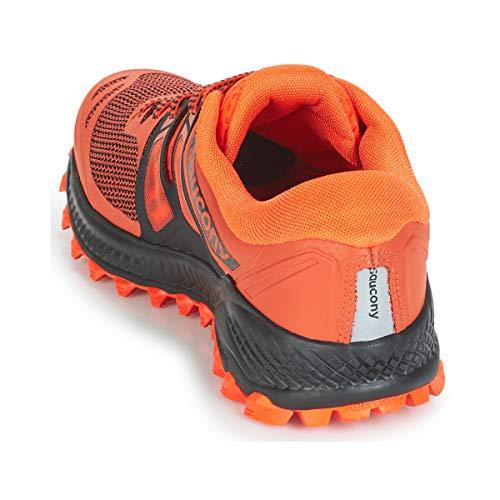 Noir Peregrine orange Argent De Hommes Iso Course Chaussure Saucony Orange q4xfd81wq