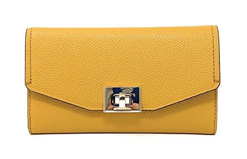Michael Kors Cassie Large Trifold Wallet (Marigold)