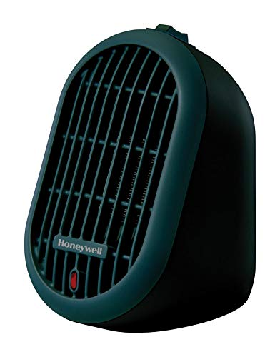 Honeywell HCE100B Heat Bud Ceramic Personal Heater, Black - Heater Black Indoor