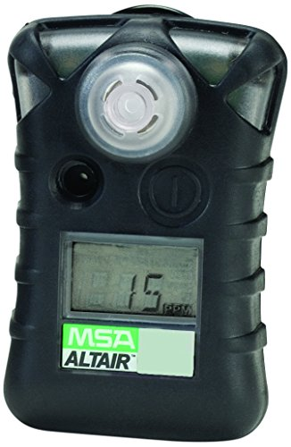 Sulfide Monitors Hydrogen (MSA 10071361 ALTAIR Single Gas Detector, Hydrogen Sulfide (H2S), Low Alarm 5 PPM, High Alarm 10 PPM)