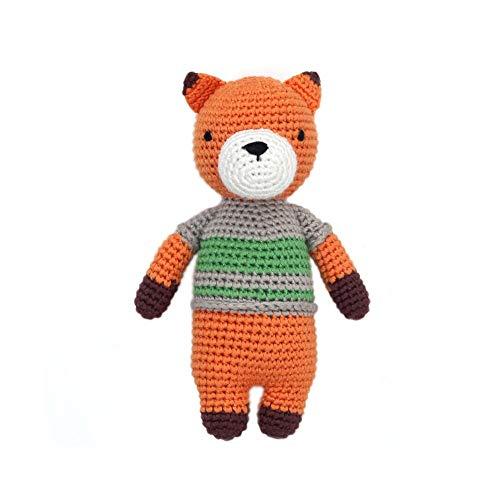 (Cheengoo Organic Bamboo Hand Crocheted Mini Doll - Felix The Fox)