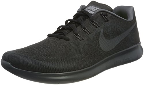 NIKE Men's Free RN 2017 Black/Anthracite/Dark/Grey Running Shoe 11.5 Men US