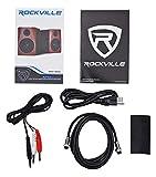 """Rockville Apm6c 6.5"""" 2-Way 350W Active/Powered"""