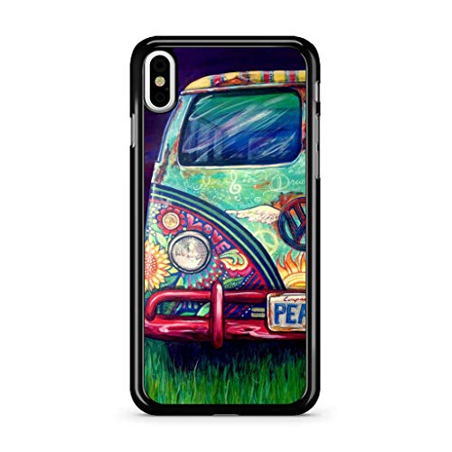 Hidden Pearls -VW Camper Van minibusHard Rubber Case for Apple iPhone Xs MAX Made and Shipped from The USA (Iphone Case Vw 4)