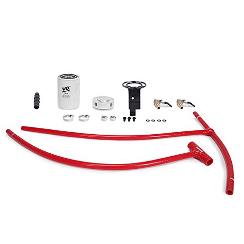 03RD 03-07 Ford 6.0L Powerstroke Engine Coolant Filter Kit, Red ()