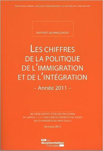 Ebook pour le téléchargement gratuit gk Les chiffres de la politique de l'immigration et de l'intégration - Rapport 2012 PDF PDB CHM