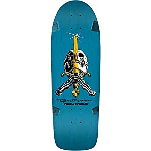 Powell Peralta Paul Rodriguez Skull/Sword 8 Deck 10x30 Blue/Yellow Assembled as COMPLETE Skateboard