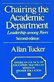 Chairing the Academic Department, Allan Tucker, 0029330904