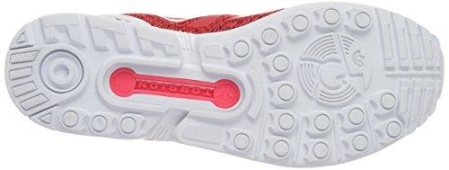 Adulto Da – shored ftwr core Zx Flux Scarpe Rosso Black Corsa Unisex Adidas White ZY0ann
