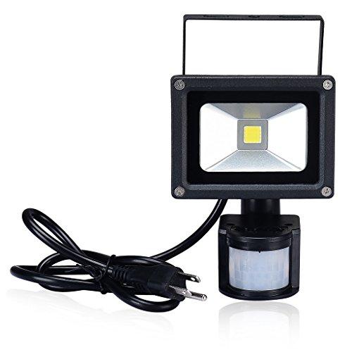 pryeu 10 watts led motion pir sensor outdoor security. Black Bedroom Furniture Sets. Home Design Ideas