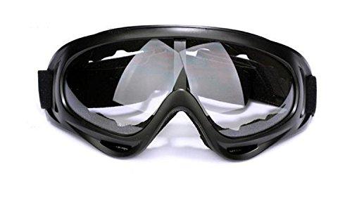 UPC 700424239122, Viskey Multisport Glasses/ Riding Glasses Black Frame Transparent Lens