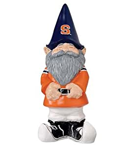 Handcrafted Hand-Painted Resin Collegiate Garden Gnome in Syracuse University