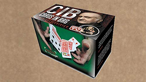 MJM CIB: Cards in Bag (Gimmicks and Instructions) by Dominique Duvivier - Trick (Fool Us Penn And Teller Card Trick)