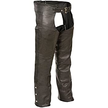 Milwaukee Leather Men/'s Basic Coin Pocket Leather Chaps SH1115