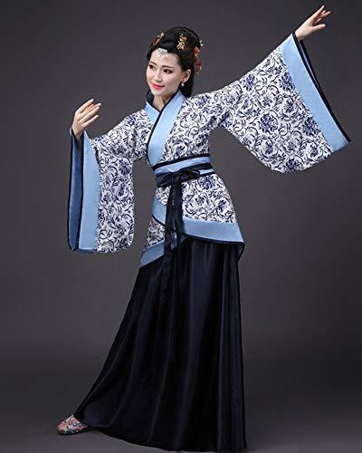 Elegante Antico HanfuStile Dazisen Donna 2 Retro Cinese Abiti Abbigliamento Vestito Stile Tuta Tang Tradizionale TlJcFK1