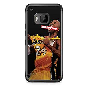 Kobe Bryant HTC One M9 Transparent Edge Case - Heroes Collection