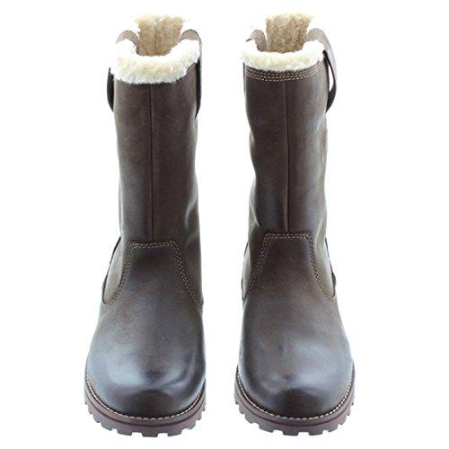 """Timberland-Kids Chaussures à enfiler 8 """"Marron"""