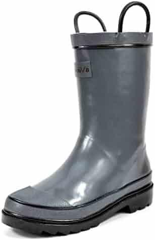 Arctiv8 HARLEY Kids Rubber Outdoor Waterproof Pull On Rain Boots New (Toddler/Little Kid/Big Kid)