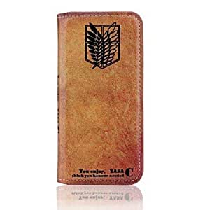 Mini - HHMM Restoring ancient ways PU leather Cases with Stand Investigation Corps for iPhone 6 Plus Case 5.5 inch