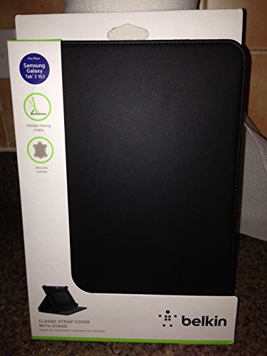 Belkin Classic Strap Cover Case With Stand For Galaxy Tab 2 10.1 Inch - Black