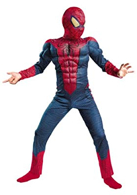 Kids Spider-Man Muscle Chest Halloween Costume